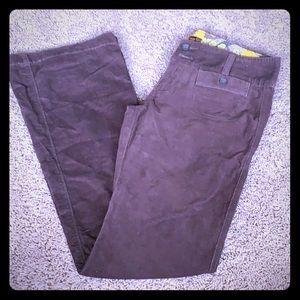 Like New Hollister Brown Corduroy Pants Size 3